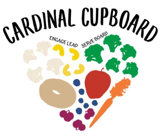 Cardinal Cupboard logo saying